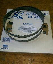 "6 pc-12'(144"")  x 1-1/4"" x. 042 x 1.2 TPI Timber Master Sawmill bandsaw blades"