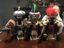 Steinbach Three Wise Men Chubby Nutcrackers Set