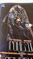 Coheed and Cambria Poster Reprint for 2010 San Francisco Concert