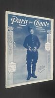 Revista Semanal Dibujada París Que Canta N º 178 Junio 1906 ABE