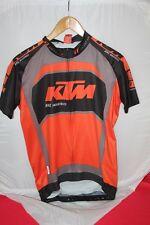 Maillot VTT Zippé KTM Factory Team Race Noir-gris-orange