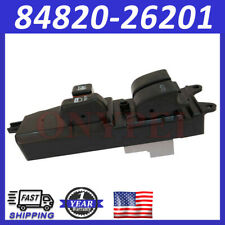 84820-26201 Power Window Master Switch For Toyota Hiace 2006-2013 KDH20# TRH20#