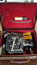 Bolex H16 Reflex 16mm Cine Camera plus 4 lenses/accessories. Perfect condition
