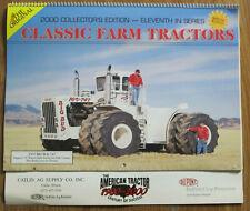 Catlin Illinois Classic Farm Tractors 2000 Calendar DuPont 1977 Big Bud 747