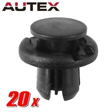 20x Nylon Bumper Grille Engine Under Tray Trim Panel Clips Retainer for Honda