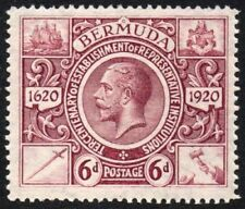Lightly Hinged Cats Bermudian Stamps