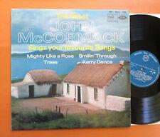 The Great John McCormack Favourite Songs MFP Mono 1090 NM