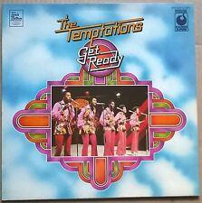 THE TEMPTATIONS  Get Ready   ORIGINAL 1973 UK SOUNDS SUPERB label vinyl LP   EX!