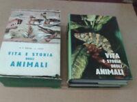 Brehm/Vogt - VITA E STORIA DEGLI ANIMALI. 2 Volumi - 1963 - Ed. Italiana Cultura