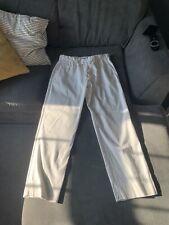 mens white ralph lauren trousers