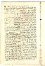 New listing Irish American Immigration Niles Weekly 1816 News