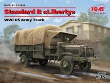 ICM 35650 WWI US Army Standard B Liberty Truck In 1 35