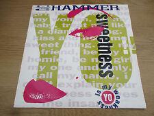 "MC HAMMER - YO!! SWEETNESS    Vinyl 12"" UK 1991 Hip Hop Pop   CAPITOL - 12CL 616"