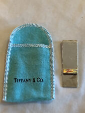 Tiffany & Company Sterling Silver Smooth Classic Money Clip
