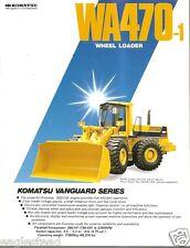 Equipment Brochure - Komatsu - Wa470-1 - Wheel Loader (E2107)