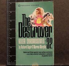 The Destroyer Killer Chromosomes #32 Richard Sapir Warren Murphy 78 Pulp Fiction