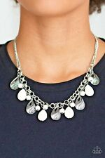 Paparazzi Jewelry Terra Tranquility - White  Necklace & Earrings Set