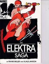 The Elektra Saga #3 F/VF 7.0 1984 Marvel See My Store
