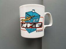 Doctor Who MUG. Tardis and Sylvester McCoy Logo. Vintage.