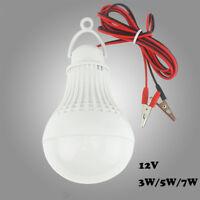 LED Emergency Clip Outdoor Hunting Lantern Camping Lamp 12V Bulb Night Light