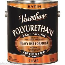 1 Gal Varathane VOC Interior Wood Clear Satin Oil Based Polyurethane 9132