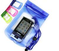 FUNDA BOLSA IMPERMEABLE PARA MOVIL SUMERGIBLE ACUATICA iPhone Samsung Huawei,etc