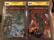 Batman Forge & Casting Set SS 9.8 Foil Signed Lee, Snyder, Tynion and Kubert