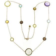 Roberto Coin Ipanema 18K Yellow Gold Semiprecious Stones Necklace 367299AY32J0