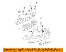 Pontiac GM OEM 03-05 Sunfire Rear Bumper-Bumper Cover Bracket Right 22682340