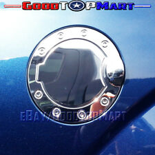 For Ford F150 2004-2006 2007 2008 Chrome STEEL Gas Door Cover METAL Tank Cap