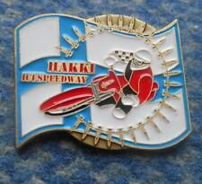 WORLD CHAMPIONSHIPS FINLAND / 2012 ? / ICE SPEEDWAY PIN BADGE