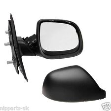 VW Transporter/Caravelle T5 1/10-15 Right Hand O/S Black Wing Mirror, Manual