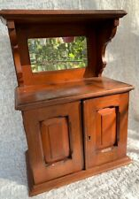 Antique Victorian Edwardian Apprentice Timber Wood Sideboard Cupboard