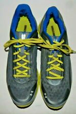 Under Armour Spine RPM Mens Gray/Yellow Running Sneakers Shoes Size 14