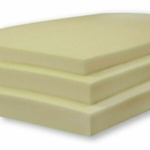 White Upholstery Foam Sheet High Density CUT TO ANY SIZE AND ANY THICKNESS