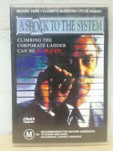 A Shock To The System DVD Michael Caine Movie 1990 Thriler - AUS REGION 4