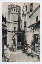 Cpa Carte postale Algérie Alger une rue de la Casbah