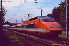 PHOTO  TGV AT ÉVIAN-LES-BAINS  16 AUG 1998