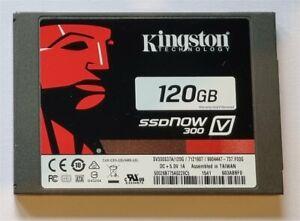 """Kingston SSDNow V300 120GB SSD 2.5"""" Hard Drive"""