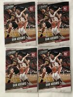 (4) Bam Adebayo 2017-18 Panini Prestige #164 LOT RC Rookie Miami Heat 186