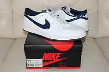 Nike AIR JORDAN 1 retro Low OG white/midnight navy - metallic - 13US-12UK-47.5EU