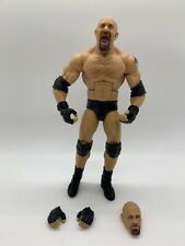 WWE Goldberg Elite Figure Mattel from 2-Pack (with Bret Hart) Wrestling WWF WCW