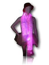 TrYptiX Fiber Optic Light up Scarf Color Changing EDC UMF Electric Zoo Shambhala