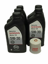 Genuine Nissan 5W-30 Oil Change Kit 15208-65F0E