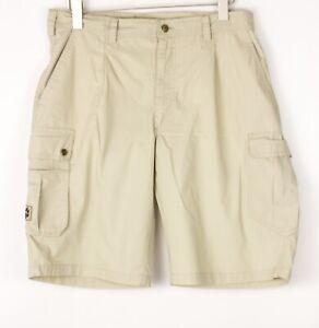 JACK WOLFSKIN Men Casual Chino Shorts Bermuda Size EU52 US36 (W34) BDZ1333