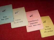 Ancien Petit jeu de cartes oracle divinatoire tarot cartomancie facile VINTAGE
