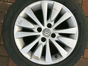 "CITROEN C4 PICASSO / GRAND PICASSO 16"" RONAL ALLOY WHEEL RIM 9683593280 #3"
