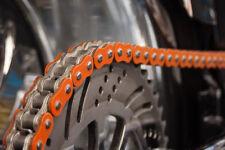 KTM Kette MX 520 HRT Orange LC4 EXC SXF SX SM Antriebskette mit 120 Glieder