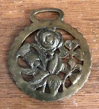 Vintage Brass Horse Tack/Bridal Medallion