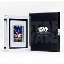 Star Wars Limited Edition Rare Collectable Silver Ingot with Case